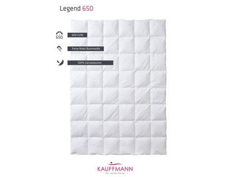 Kauffmann Legend 650 donsdeken