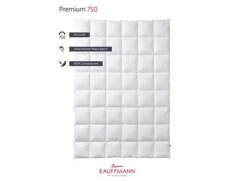 Kauffmann Premium 750 donsdeken