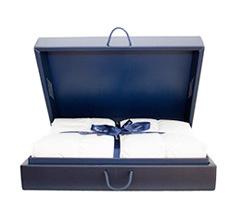 Kauffmann eiderdons donsdeken in de doos