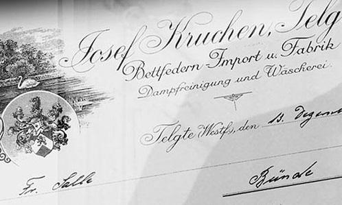 Hans Kruchen oude rekening