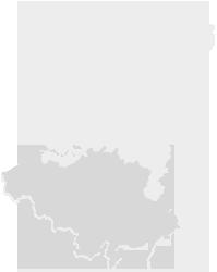Kaart van België en Nederland